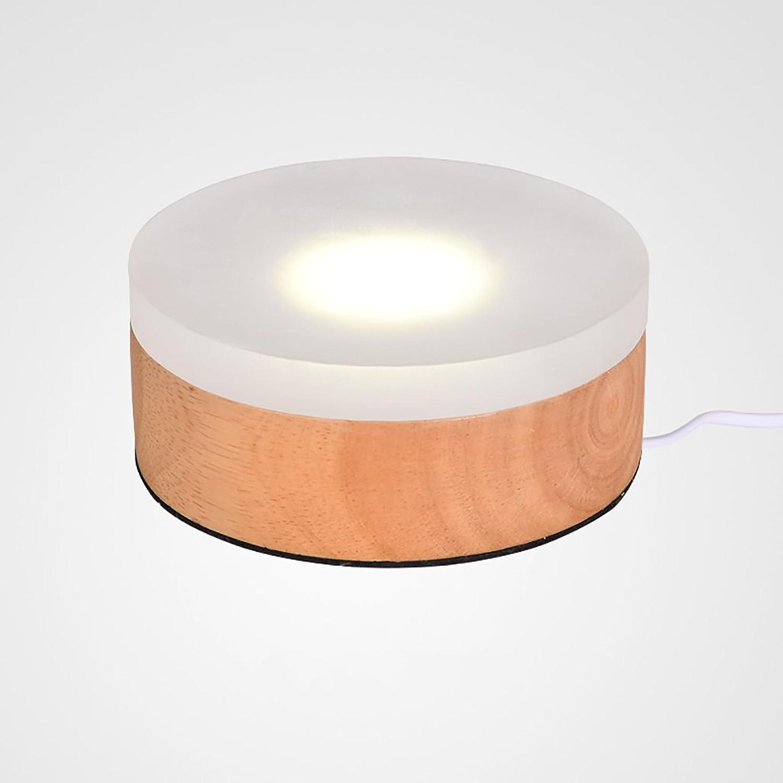 YONGJUN Nachtlicht - Schlafzimmer Kopfteil Kinder Schreibtischlampe - Study Lounge Chair Lampe Circular Power LED Lichtquelle