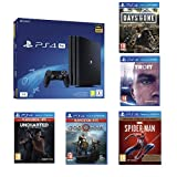 PS4 Pro 1 To + Spiderman GOTY + GoW + Uncharted: The Lost Legacy + Detroit: Become Human + Days Gone