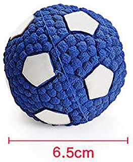 BKAMC Dog Toy bite Large Dog Teddy Gold Hair Sound Ball molars Interaction Puppies Training Puppy pet Toys Environmentally