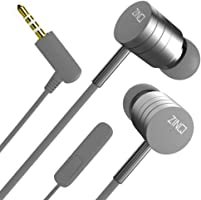 Zinq Technologies ZQEP-222-BASSIST Wired in Ear Earphone with Mic (Silver)