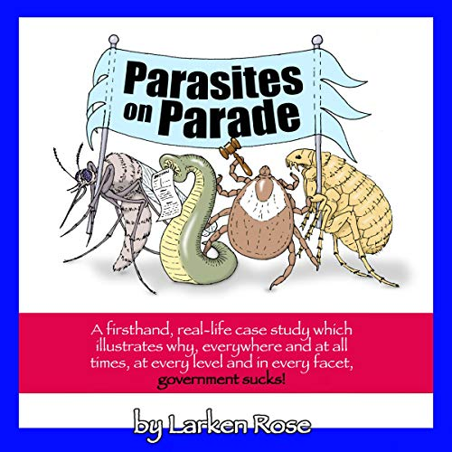 Parasites on Parade audiobook cover art