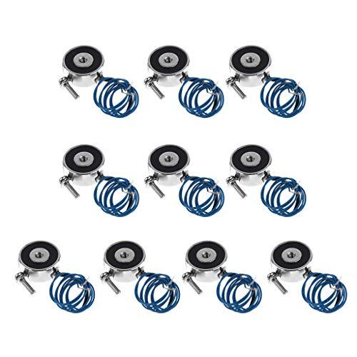 10 Stü Halten Elektromagnet, Heben 5 KG Elektromagnet, DC 12 V