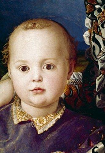 Eleonora di Toledo by Agnolo Bronzino detail 1503-1572 Poster Print (24 x 36)