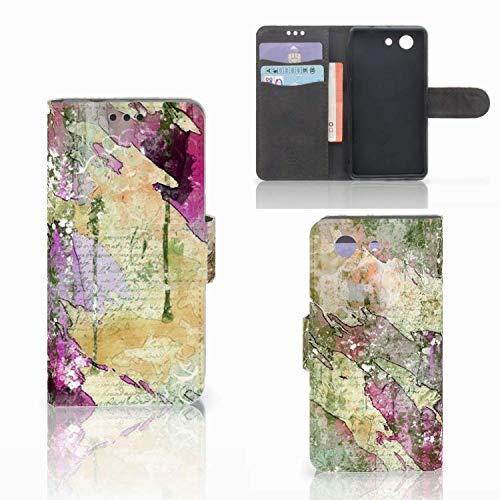 B2Ctelecom Magic Wallet Case für Sony Xperia Z3 Compact Hülle Schreiben...