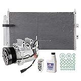 A/C Kit w/AC Compressor Condenser & Drier For Honda Civic DX GX LX Sedan 2006 2007 2008 2009 2010 2011 - BuyAutoParts 60-82557R6 New
