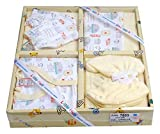 Little Hub Baby Boy's Cotton Set (Vanilla, 0-3 Months) - Pack of 6
