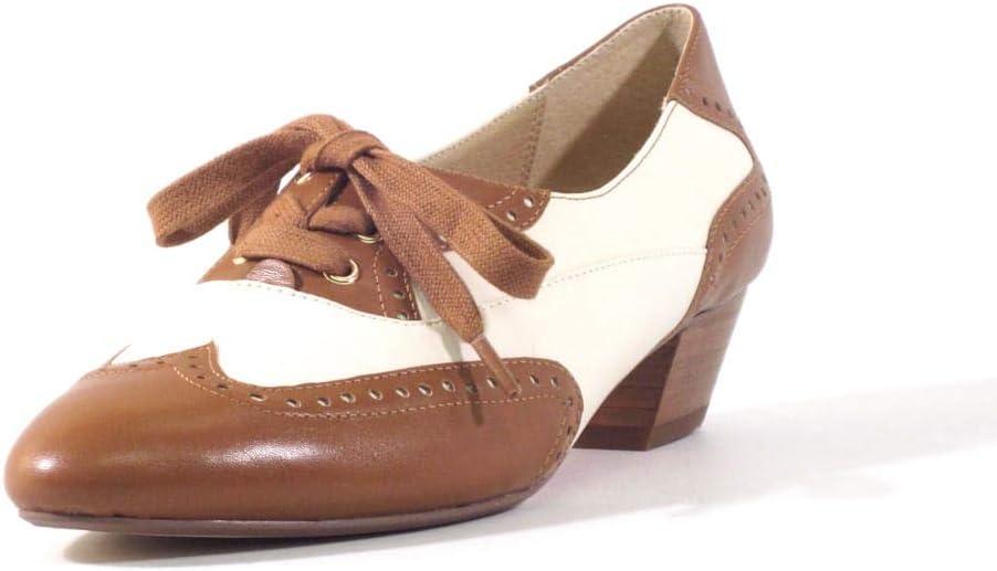 1940s Teenage Fashion: Girls Chelsea Crew Demi Womens Oxford Low Heels  AT vintagedancer.com