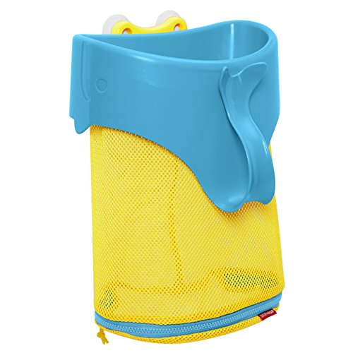 Skip Hop Moby Scoop & Splash Bath Toy Organizer And Storage, Blue