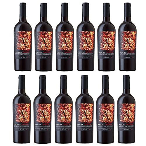 Apothic Inferno Rotwein Cuvée Wein trocken Kalifornien (12 Flaschen)