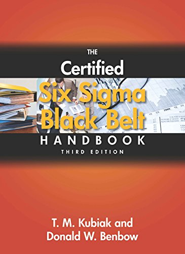 The Certified Six Sigma Black Belt Handbook, 3rd ed.