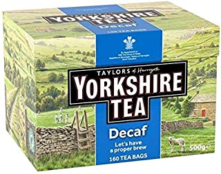 yorkshire tea decaf 160