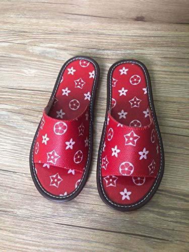 N/A Zapatillas Barbour para Hombre, Sandalias y Zapatillas Antideslizantes para el hogar...