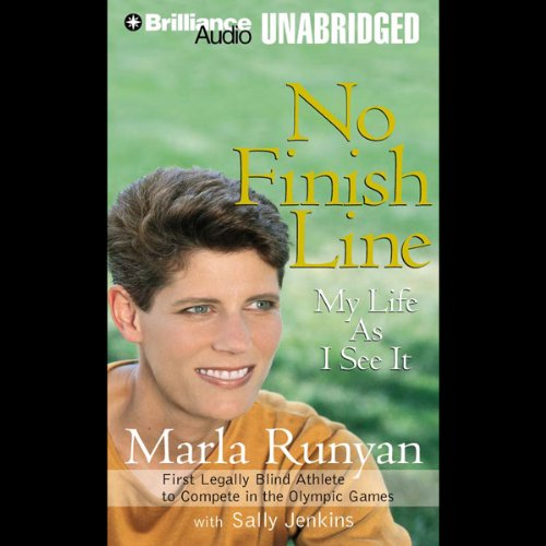 No Finish Line audiobook cover art