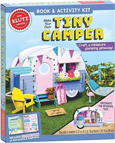 Klutz Make Your Own Tiny Camper Craft Kit
