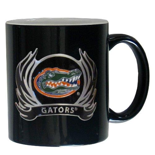 NCAA Siskiyou Sports Fan Shop Florida Gators Ceramic Coffee Mug 14 ounce Black