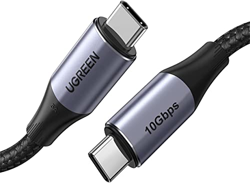 discount UGREEN USB-C to USB-C Cable 100W Power Delivery USB C 3.1 Gen 2 10Gbps 4K Video online Compatible with MacBook Pro Air iPad Pro 2020 Chromebook lowest Samsung Galaxy S20 S10 Pixel 4XL PS5 Nintendo Switch 3ft online