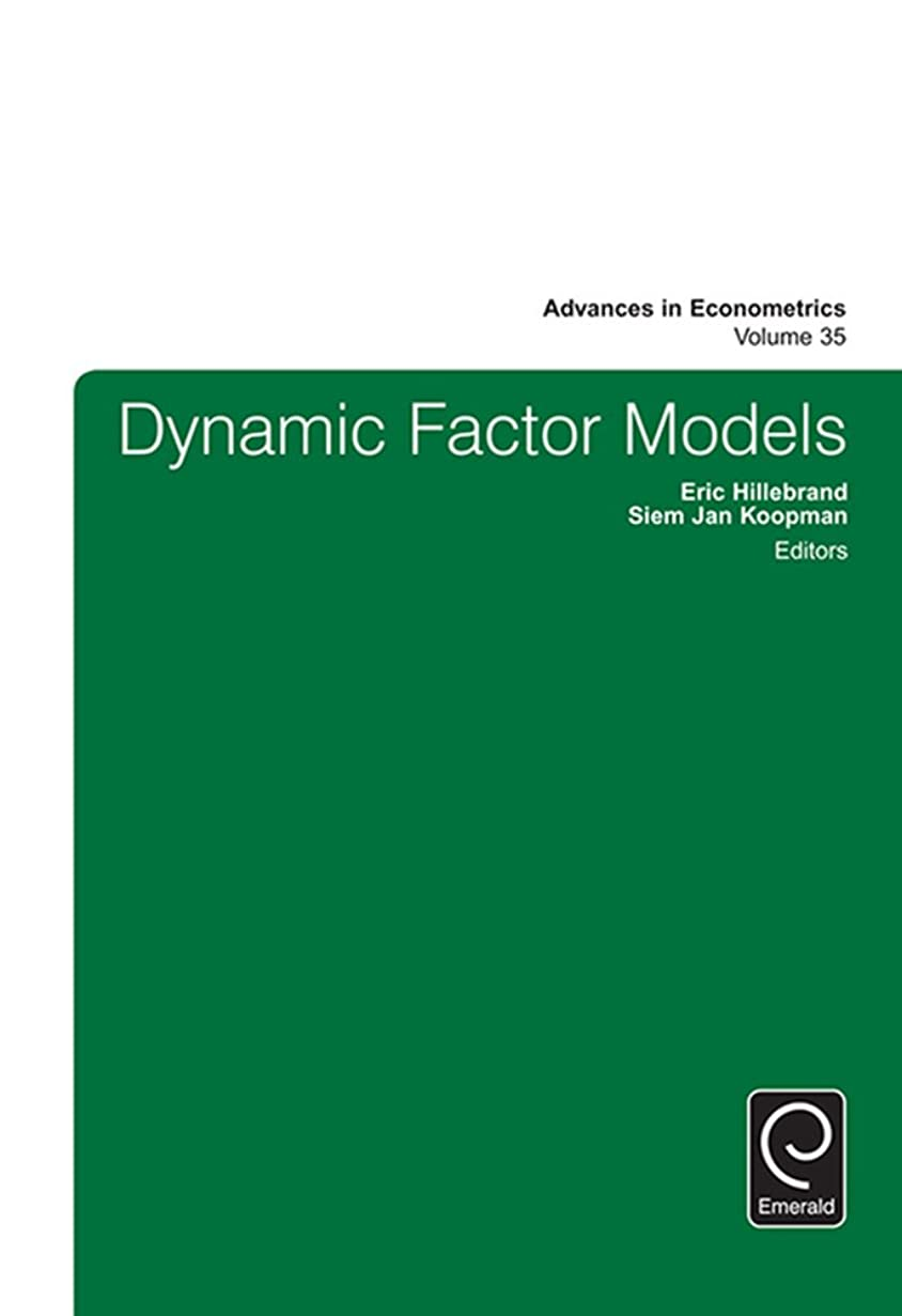 Dynamic Factor Models (Advances in Econometrics Book 35) (English Edition)
