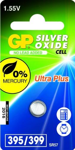 GP Batteries 040UP395C1 Pile de montre 395 SR927SW/1,55 V