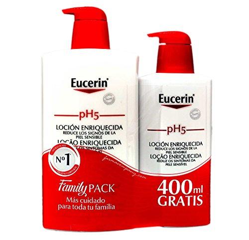 Eucerin - pH5 Loción Enriquecida, 1 L + 400 ml Eucerin Ph5