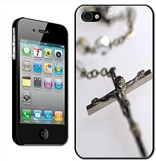 Fancy A Snuggle - Carcasa rígida para iPhone 4 y 4S, diseño de rosario