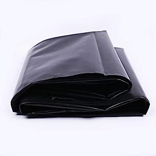 uyoyous PVC Pond Liner,16.4 ft x 19.7 ft,Black