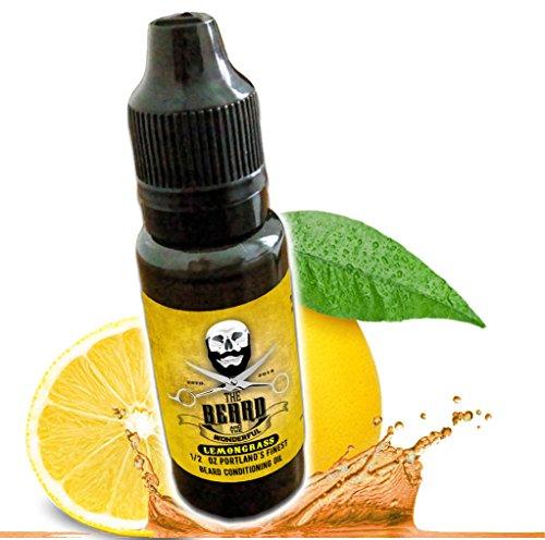 Revitalisant sans rinçage à l'huile de barbe et à la citronnelle. Mélange de qualité supérieure pour une barbe plus épaisse, meilleure et plus douce. Flacon bio 100% naturel (15 ml) aux huiles de chanvre et de jojoba.