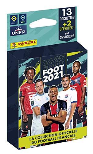 Panini France SA-PANINI Fußball 2020-21 Blister 13 Taschen + 2 gratis 003994KBF15