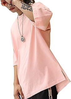 [LIBECLO(リベクロ)] 最終価格 オーバーサイズ Tシャツ ビッグ ゆったり 無地 カジュアル シンプル 良質素材 吸汗速乾 部屋着