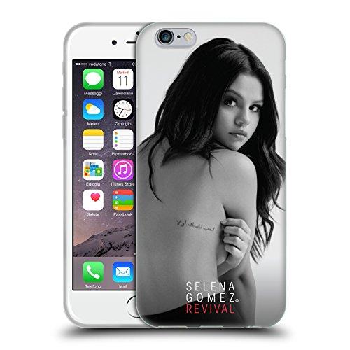 Head Case Designs Licenza Ufficiale Selena Gomez Arte Retro Revival Cover in Morbido Gel Compatibile con Apple iPhone 6 / iPhone 6s
