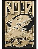 WEIBU Canvas Poster Nine Inch Nails American Industrial