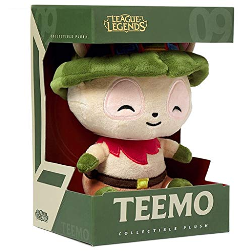 Plush doll Plush Figure Toys, Cute, Game Role for League of Legends: Teemo, Stuffed Animal Gift for Children (Collection)