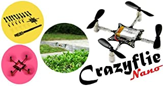 Shipped by EXPRESS,Geeetech Unassembled Crazyflie Nano-quad tiny Drone Quadcopter Kit 10-DOF with Crazyradio 2.4Ghz nRF24LU1+USB radio dongle with antenna