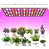 LED Grow Lights for Indoor Plants, FRENAN Full Spectrum Grow Light for Seed Starting 75W Plants Growing Lamp UV Bulbs, Suitable for Greenhouse, Hydroponics, Seedling, Veg, Flower and Various Plant
