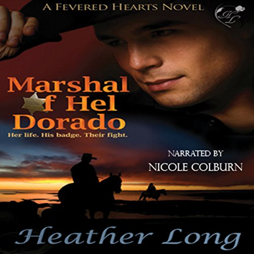 Marshal of Hel Dorado audiobook cover art