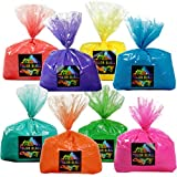 Color Blaze 8 Pack – 5 lbs Each of Pink, Red, Orange, Yellow, Green, Teal, Blue, Purple – Perfect for Fun Runs, Youth Groups, Color Wars, Fundraisers, Birthdays, Summer Camps - 40 lbs Total