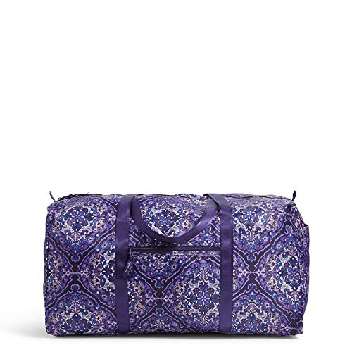 Vera Bradley Women's Packable XL Duffel Travel Bag, Regal Rosette, One Size