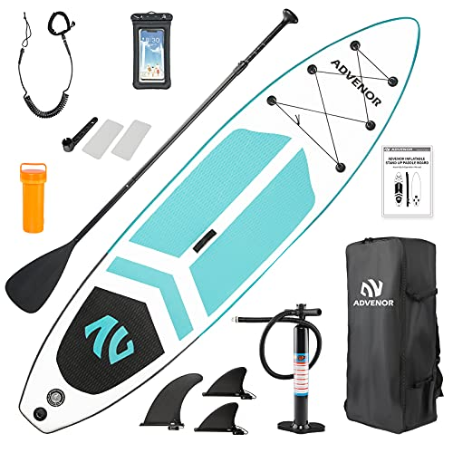ADVENOR Paddle Board 11'x33 x6 Extra Wide Inflatable Stand Up Paddle Board with...