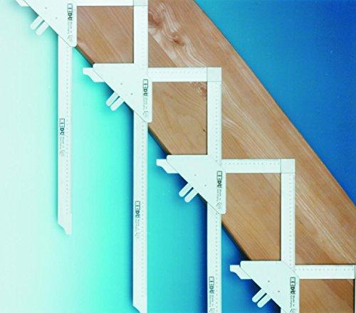 hedue T110 Treppen-Anreisswinkel Grundpackung 7 + 8