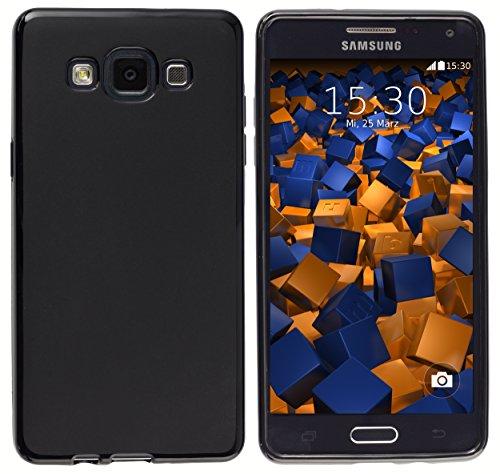 mumbi Hülle kompatibel mit Samsung Galaxy A5 2015 Handy Case Handyhülle, schwarz