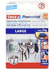 tesa POWERSTRIPS LARGE 10x, wit