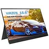 Portable Monitor Display 1920x1080 15.6-inch Super Thin IPS Gaming...