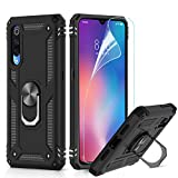 LeYi for Xiaomi Mi 9 Case with Magnetic Ring Holder, Full