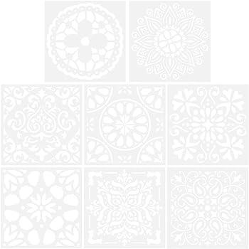Plantilla Stencil St-23 Alphabet 20X30 CM La Pajarita Especial Para Chalk Paint y Pintura Tela