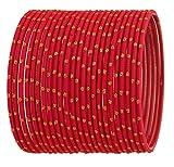 Touchstone Bangle Collection exklusive Glasur Designer Schmuck spezielle Armreifen Armbänder für Damen 2.62 Set 2 Erdbeere