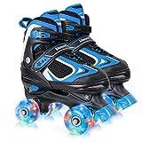 Nattork Adjustable Roller Skates for Kids,Beginner Skates for Girls and Boys,Youth and Ladies.