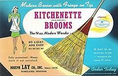 Lightweight Broom Corn Broom - Made in the USA