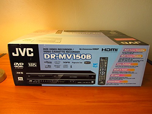 JVC DRMV150 DVD Video Recorder  VHS Hi-Fi Stereo