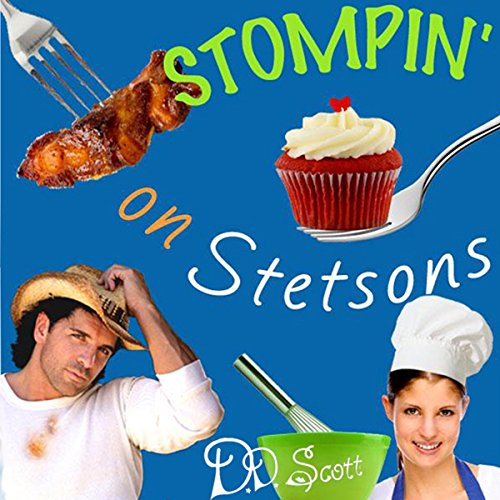 Stompin' on Stetsons audiobook cover art