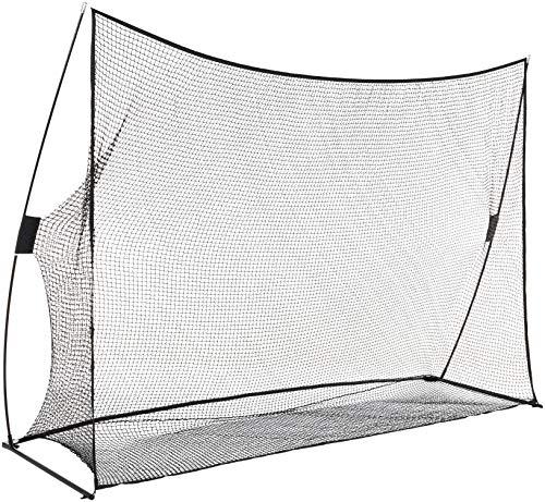 AmazonBasics Portable Driving Practice Golf Net, 10-Foot x 7-Foot