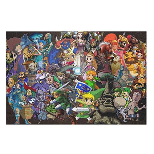 1000 piece puzzles zelda - 5